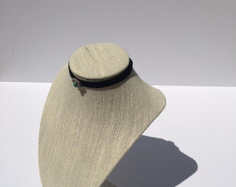 Turquoise Bead Double Strand Chocker
