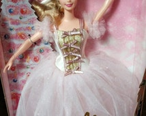 Barbie as The Sugar Plum Fairy in The Nutcracker 1996, Vintage Barbie doll, Mint NRFB, Collector Edition, Mattel 17056
