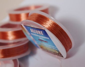 Yarn lurex embroidery, polished edge ALLURE, soutache, polyester, sewing thread.