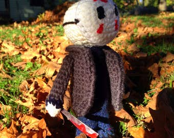 Jason Voorhees Friday the 13th Amigurumi