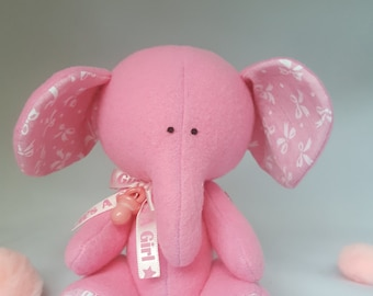 Stuffed Baby Shower Elephant