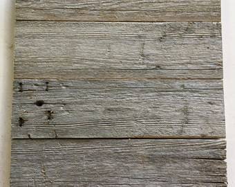 The Basic, Reclaimed wood blank. Customizable clean canvas to work with how you would like. Designable surface.