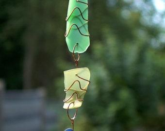 Sun Catcher Glass Copper Suncatcher
