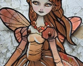 Jointed Articulated Paper Dolls - Folk Art - Paper Goods - Hand-painted - Victorian Fairy - The Faery Ball 14