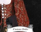 Custom Order Pirate Coat Sleeves