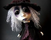 Loopy Southern Gothic Art Doll Victorian Dark Goth Witch Jilly