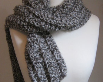 Crochet Pattern - Extra Chunky Scarf - Instant Download PDF