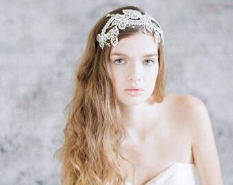 Bridal headband - Sparkling crystal delight headband - Style 734 - Made to Order