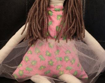 Handmade cotton doll