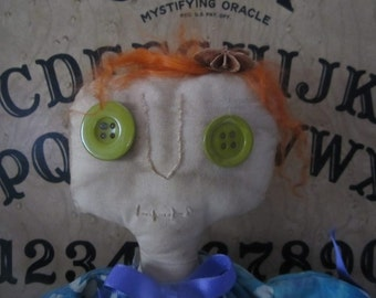 ConJuriNg CaRRiE PRIM DoLL hAndCraFtEd OOAK wiTcH BeLL Ye OlDe PlAyThiNg