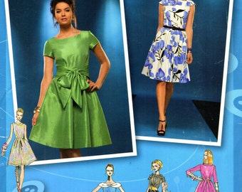 Simplicity 2444 PROJECT RUNWAY Saucey Dress  ©2010