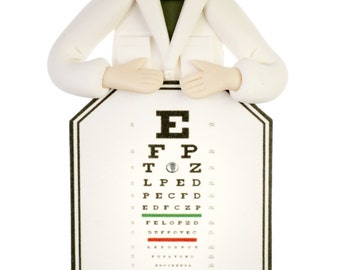 Eye Doctor or Optician Ornament