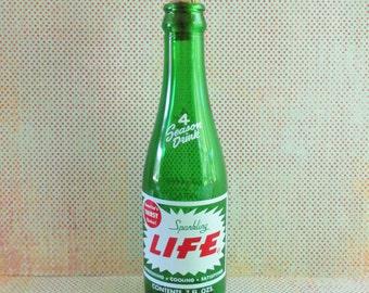 Vintage Laundry Sprinkler Sparkling Life Pop Bottle