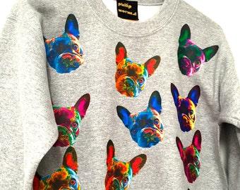 Grey French Bulldog Sweatshirt