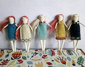 Custom art doll
