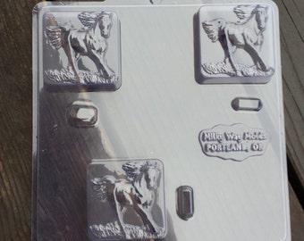 Running Horse Soap Mold