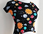 Things in Space Crop Top - Size S-3X