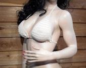 Erotic Crochet Thong Bikini one size ready to ship