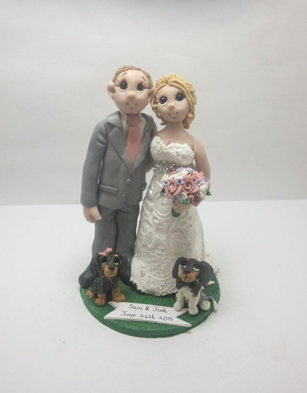 Wedding Cake Topper CUSTOM cake topper FUNNY cake topper