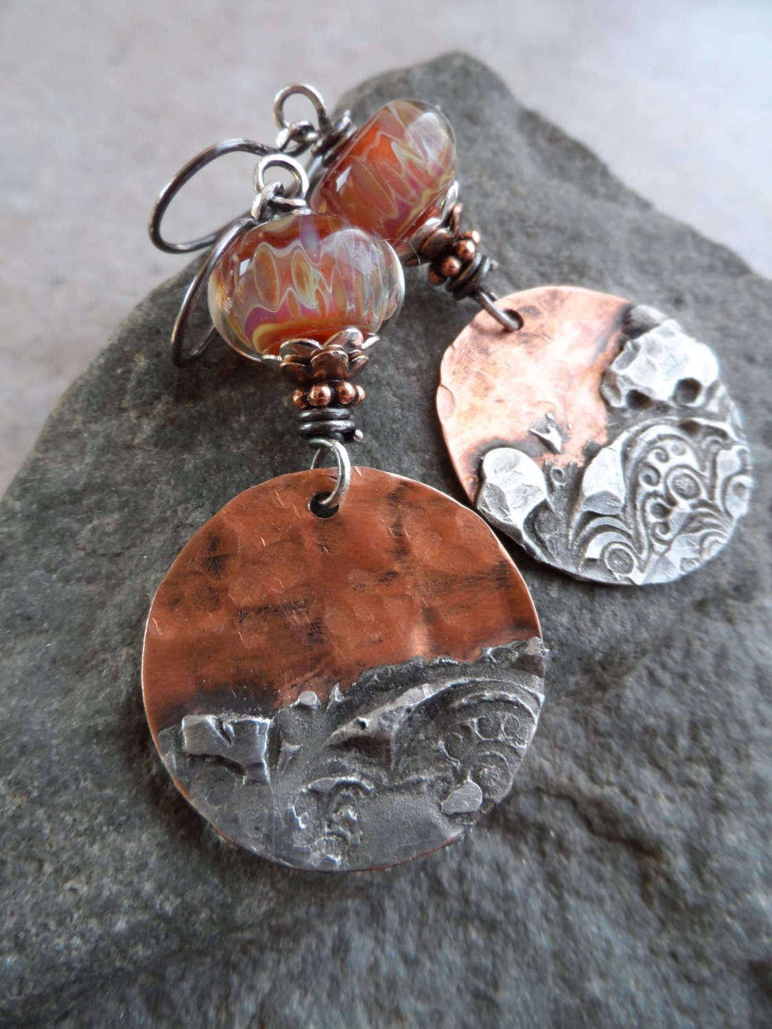Reserved copper canyon copper with silver solder charms for How to solder copper jewelry