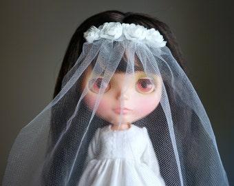 wedding dress & veil set for blythe