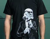 Father's day gift, Smart Storm Trooper t-shirt, dad shirt, gift for daddy, husband gift, star wars mens shirt, birthday gift for brother