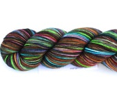 Sidewalk Chalk--hand dyed sock weight yarn, 2 ply merino, cashmere, nylon (400yds/100gm)