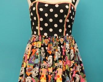 Calavera Mini Dress