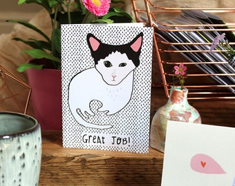 SALE: GREAT JOB! card cc181