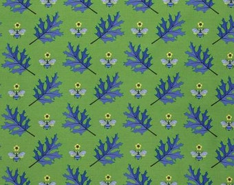 Jane Sassaman Periwinkle Busy Bee fabric 1 yard