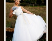 1950s Wedding Dress   'AURORA'