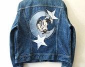 Michael Jackson in the Stars. Cosmic MJ Totem Denim Jacket