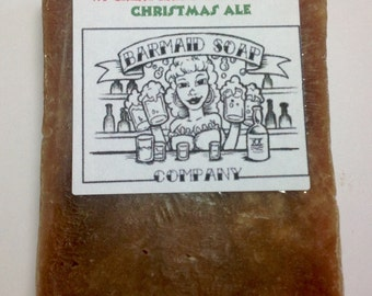 Beer Soap with Christmas Ale