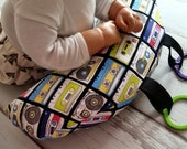 Organic Tummy Time Pillow, Cassette Tapes