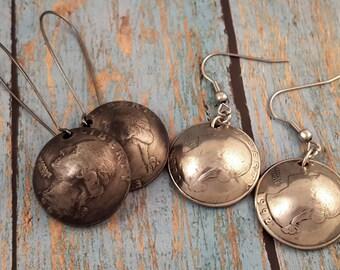 Coin Earrings 1965-1998 Domed Quarter ME1805-TYRCUST
