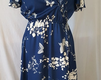 Madame Butterly 70's Flutter Dress