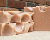 3 bars of Baby Face Organic Goat Milk Soap