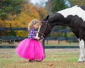 The Olivia - Custom Ballet style Mid-Length Tutu - SEWN and  FULL Tulle Skirt - Made to order - for flower girls, portraits, parties