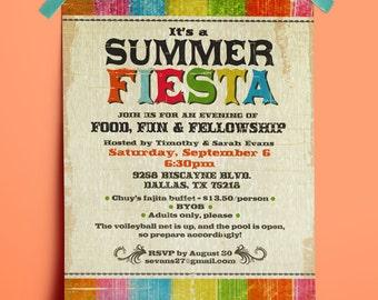 PRINTABLE Fiesta Party Invitation