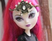 Princess Tiara Headpiece Headband Doll Jewelry fits Petite Slimline High Dolls