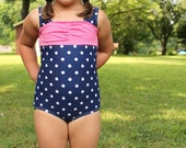 The Classic Maillot swimsuit and tankini PDF Pattern