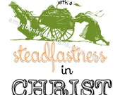 """LDS Young Women Theme 2016 - """"Press Forward with a Steadfastness in Christ."""" - Printable Download"""