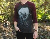 Men's Cycling ELEPHANT baseball t shirt american apparel xs S M L Xl xxl