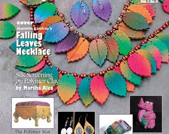 PolymerCAFE - Fall 2007, Tutorial, Book, Polymer Clay, Clay, Sculpey, supply, tools, Metal Clay, Jewelry