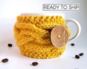 Cup Cozy, Knit Coffee Sleeve, Tea Cozy, Coffee Cozy, Coffee Mug Cozy, Coffee Cup Sleeve, Coffee Sleeve, Knit Coffee Cozy, Tea Cosy