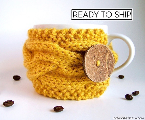 Last Minute Gift, Coffee Cozy, Tea Cozy, Coffee Cup Cozy, Coffee Mug Cozy, Coffee Cup Sleeve, Coffee Mug Sleeve Coffee Sleeve Coffee Gifts