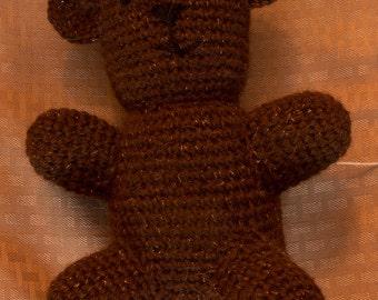 Crochet Shetland Wool Teddy Bear