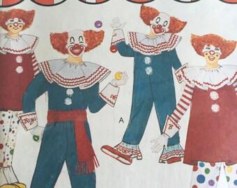 Vintage McCall's Pattern 5489 - Girls Costumes - Pilgram, Colonial, Settler, Sutter's Fort - Cut -  Size 10, 12