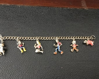 Dog patch USA Charm Bracelet