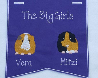Guinea Pig Banner-Extra Large (Personalized_